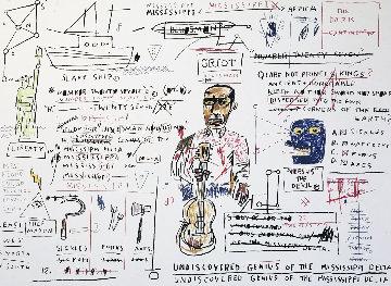 Undiscovered Genius 1982 Limited Edition Print - Jean Michel Basquiat