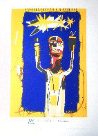 Welcoming Jeers 1997 Limited Edition Print by Jean Michel Basquiat - 1