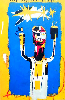 Welcoming Jeers 1997 Limited Edition Print - Jean Michel Basquiat