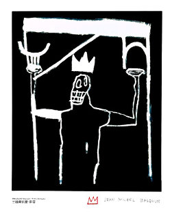 Untitled Lithographic Poster 1997 Limited Edition Print - Jean Michel Basquiat