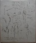 First Edition Anatomy Prints Limited Edition Print - Jean Michel Basquiat