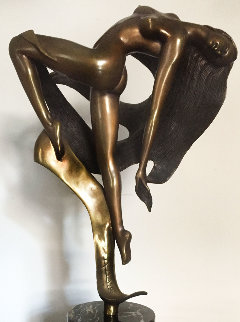 Evolution Bronze Sculpture 1986 19 in Sculpture - Angelo Basso