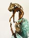Dancing With Waves Bronze Sculpture 1987 22 in Sculpture by Angelo Basso - 4