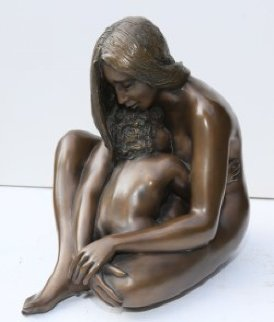 Amore Materno Bronze Sculpture 13 in Sculpture by Angelo Basso