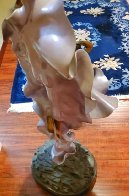 Paola And Francesca Bronze Sculpture 1989 42 in Sculpture by Angelo Basso - 0