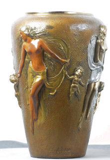 Seraphim Bronze Sculpture 2000 13 in Sculpture - Angelo Basso