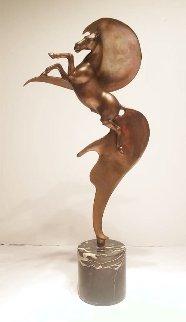 Cavallo Bronze Sculpture 21 in Sculpture - Angelo Basso