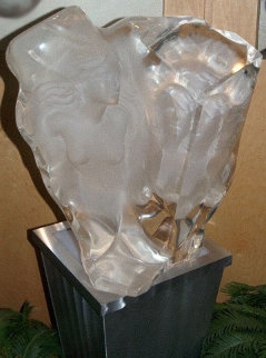 Renaissance Acrylic Sculpture 24 in  Sculpture - Angelo Basso