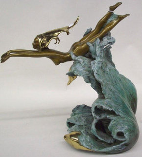 Companions Bronze Sculpture 1988 16 in Sculpture - Angelo Basso
