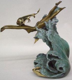 Companions Bronze Sculpture 1988 Sculpture by Angelo Basso