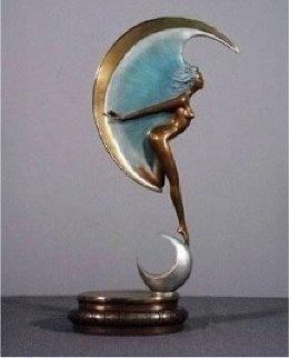 La Luna Bronze Sculpture 1985 33 in Sculpture by Angelo Basso