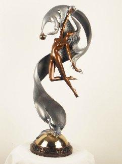 Perla Bronze Sculpture 1987 25 in Sculpture by Angelo Basso