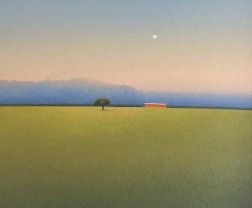 Luna Sobra La Cordillera 2014 29x25 Original Painting - Jose Basso
