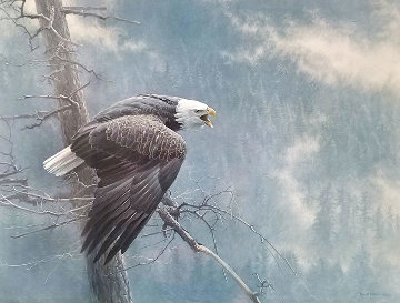 Air, The Forest And The Watch  1989 Limited Edition Print - Robert Bateman