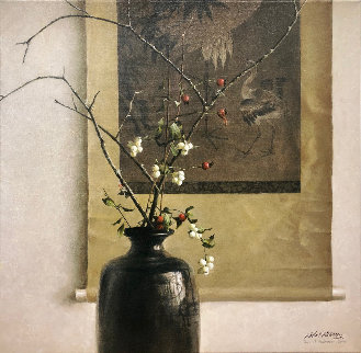 Still Life Chinese Scroll   Limited Edition Print - Robert Bateman