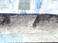 Les Eprouvants 1986 18x29 Original Painting by Bernard Berthois-Rigal - 2