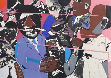 Jazz II 1980 Limited Edition Print by Romare Bearden