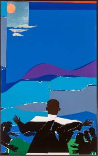 Mountaintop With Martin Luther King Jr. Limited Edition Print by Romare Bearden