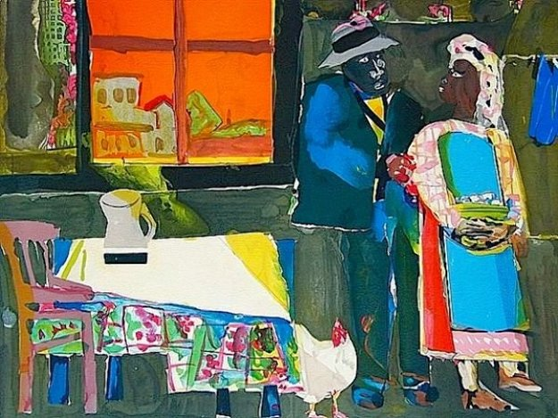 Autumn of the Rooster  Limited Edition Print by Romare Bearden