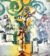 Introduction For a Blues Queen 1979 Limited Edition Print by Romare Bearden - 1