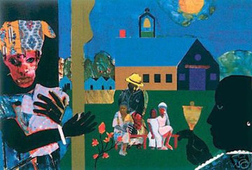 School Bell Time 1994 Limited Edition Print by Romare Bearden