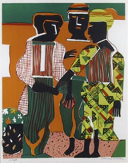 Conjunction 1979 Limited Edition Print by Romare Bearden
