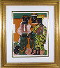 Conjunction 1979 Limited Edition Print by Romare Bearden - 1