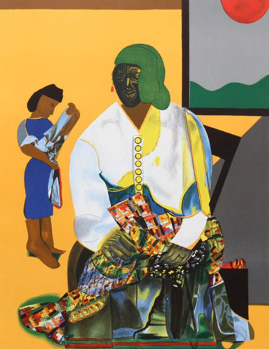 Mecklenburg Autumn 1982 Limited Edition Print by Romare Bearden