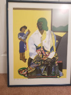Mecklenburg Autumn 1982 Limited Edition Print by Romare Bearden - 2
