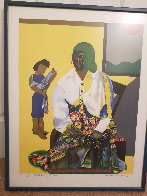 Mecklenburg Autumn 1982 Limited Edition Print by Romare Bearden - 3