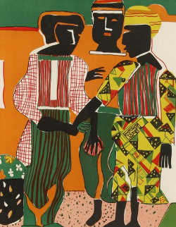 Conjunction 1979 Limited Edition Print - Romare Bearden