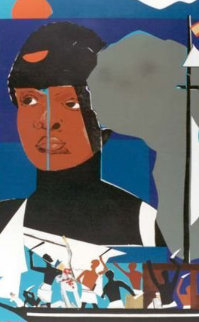 Slave Ship 1972 Limited Edition Print by Romare Bearden