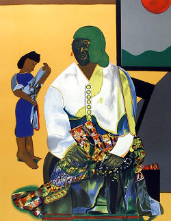 Mecklenburg Autumn 1979 Limited Edition Print - Romare Bearden
