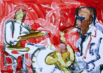 Out Chorus (Rhythm Section) 1979 Limited Edition Print by Romare Bearden