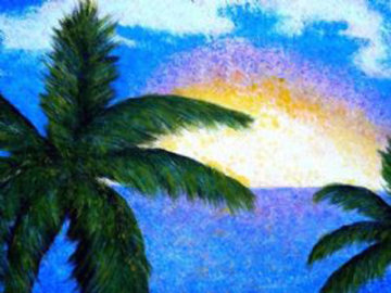 Boca Sunrise AP Limited Edition Print - Palyn Beaulieu