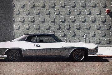 Oakland Buick AP 1975 Limited Edition Print - Robert Bechtle