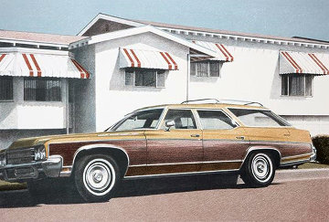 Station Wagon 1979 Limited Edition Print - Robert Bechtle