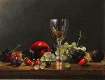 Yummy 1998 30x26 Original Painting - Charles Becker