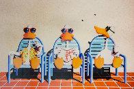 Sitting Ducks II Limited Edition Print by Michael Bedard - 0