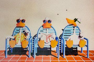 Sitting Ducks II Limited Edition Print - Michael Bedard