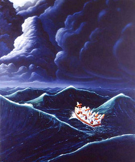 Ship of Fools 1990 Limited Edition Print - Michael Bedard
