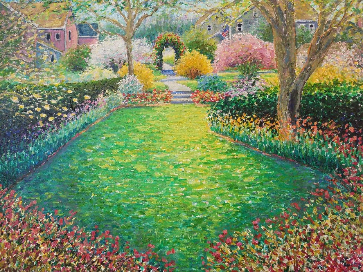 Springtime Perfume 2003 34x40 Huge Original Painting by Guy Begin
