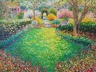 Springtime Perfume 2003 34x40 Huge Original Painting by Guy Begin - 0
