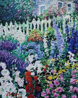 Symphonie D'été 1993 24x21 Original Painting - Guy Begin