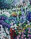 Symphonie D'été 1993 24x21 Original Painting by Guy Begin - 0