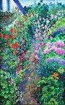 Enchantment Perfume 1993 25x35 Original Painting - Guy Begin