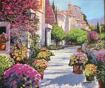 Blissful Burgundy 2006 Limited Edition Print by Howard Behrens