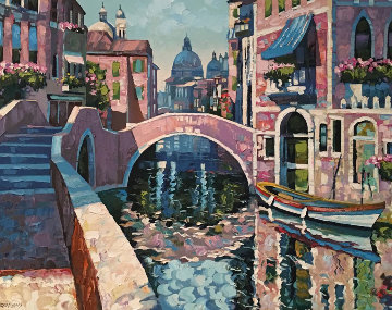 Reflections of Venice  Limited Edition Print by Howard Behrens