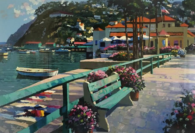 Catalina Promenade 1995 Limited Edition Print by Howard Behrens