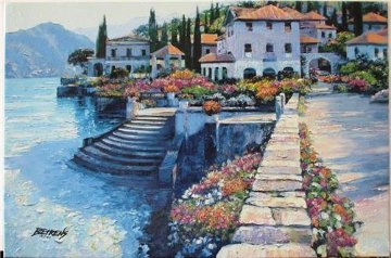 Stairway to Carlotta 2010 Embellished Limited Edition Print by Howard Behrens